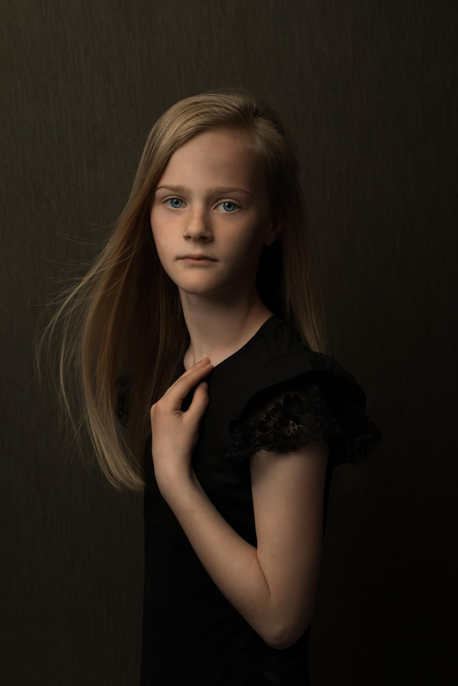 portret kind
