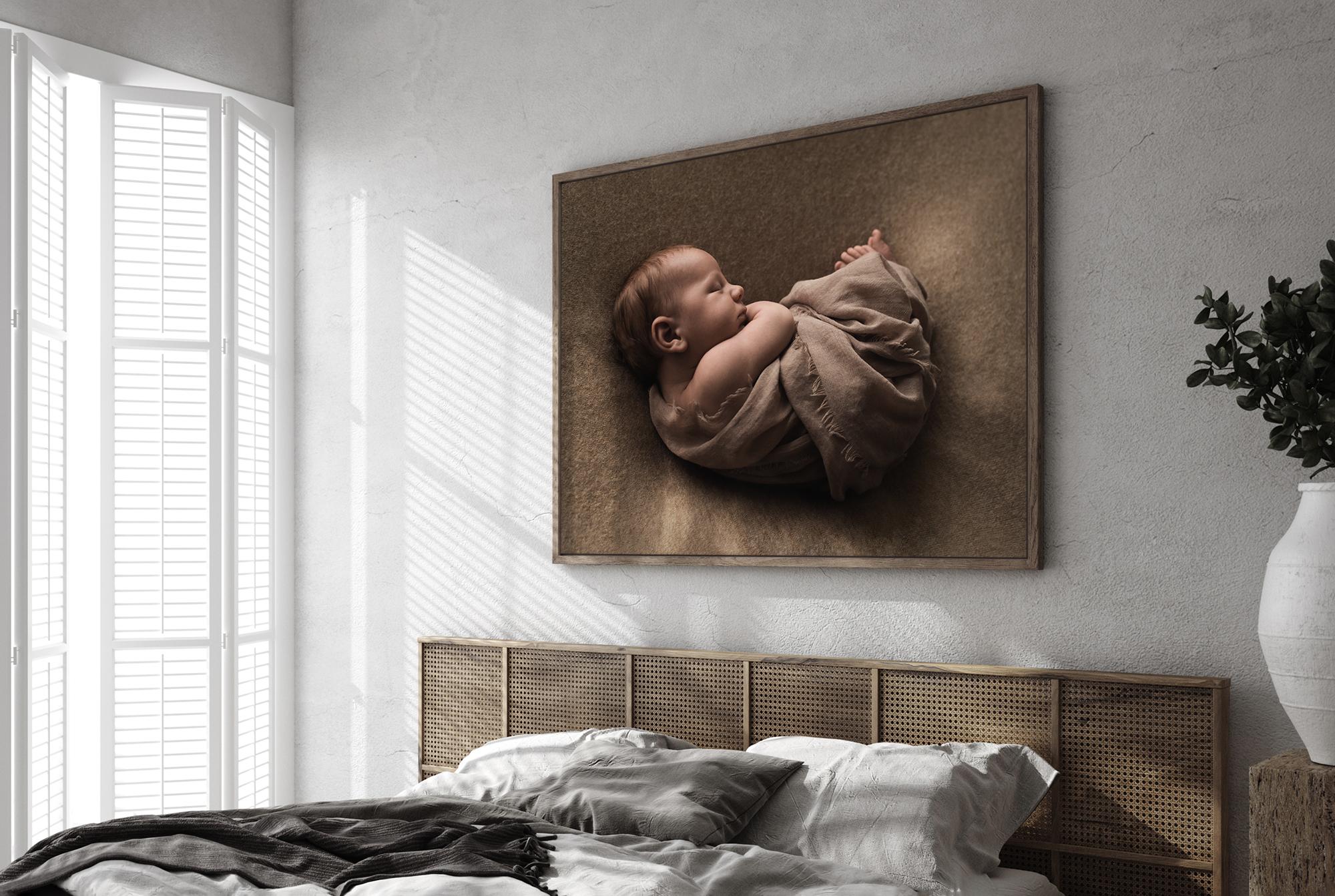 newborn foto slaapkamer